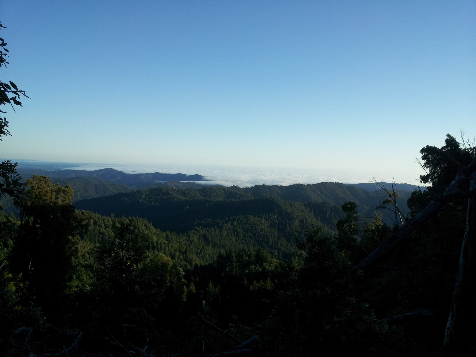 Mendocino County Skyline